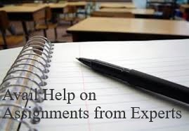 Avail Help on Assignments from Experts
