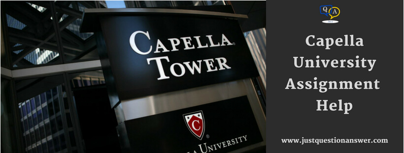 Capella University Assignment Help