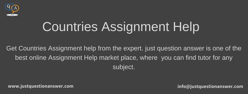 Countries Assignment Help