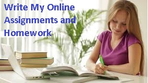 Write My Online Assignments and Homework